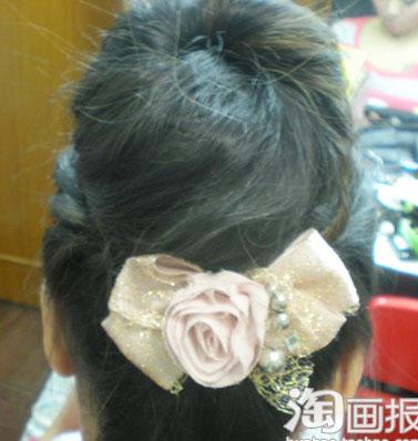 三分钟搞定甜美花苞公主发型