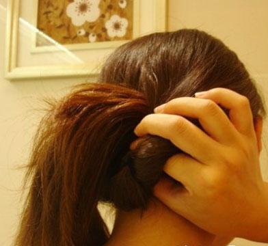 韩式盘发 韩式盘发的方法