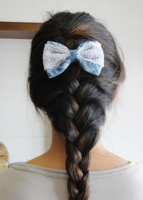 头发盘法(二)