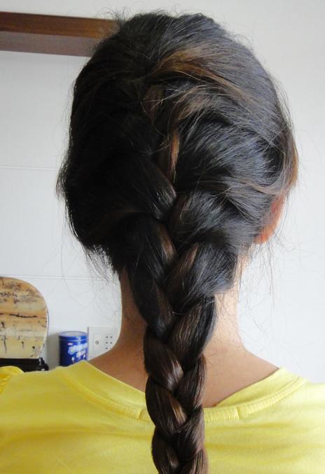 头发的盘法