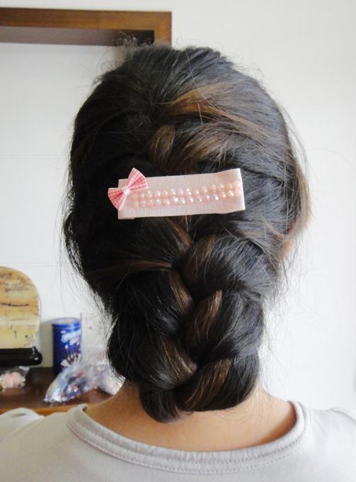 头发的盘法(三)