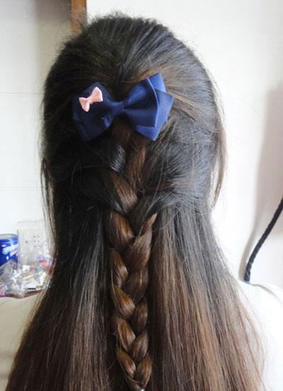 韩式盘发(二)
