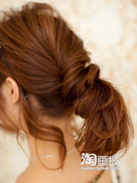 教你美丽过冬季 DIY淑女发型