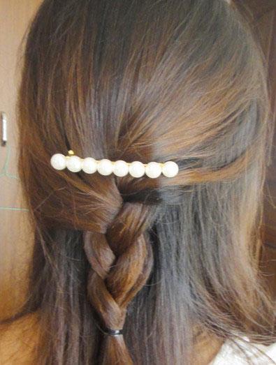 DIY打造简单显嫩的麻花辫