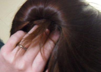 简单的韩式盘发(二)