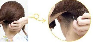 盘发技巧――日系盘发方法(二)