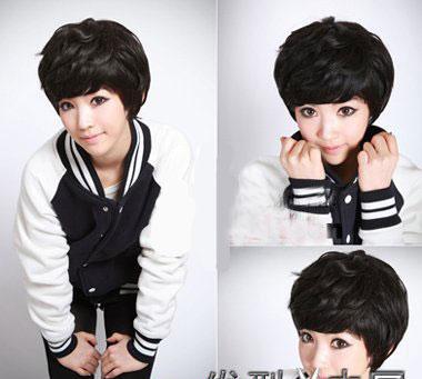 2011流行发型――短发纹理烫(五)