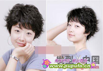 2011流行发型――短发纹理烫(六)