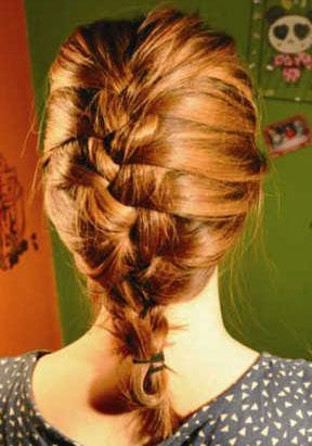 长发盘发的方法(二)