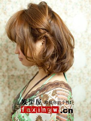 短发盘发的方法