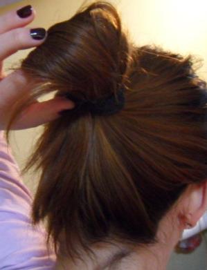 盘头发的方法