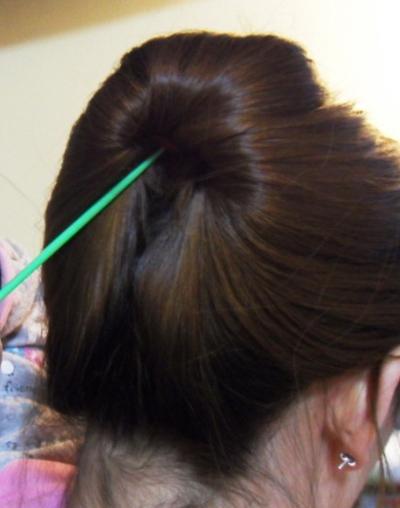 盘头发的方法(二)
