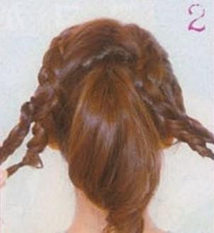 编发+马尾=可爱秀发(三)