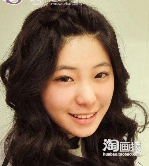 盘发技巧 春季刘海编发(五)