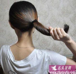 如何盘好看的头发(二)