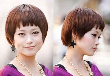7款夏日刘海 减龄又瘦脸(四)