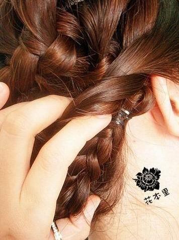 韩式发型盘法 -- 韩式编发(四)