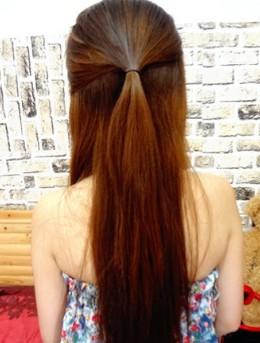 编发教程 甜美发型