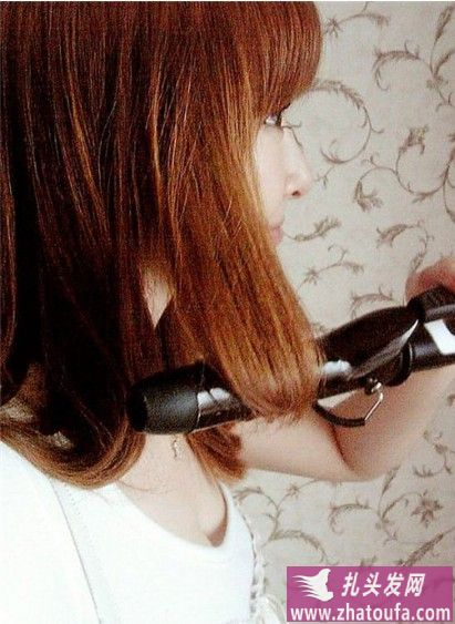 """分享:超热""""梨花头""""发型的方法(四)"""