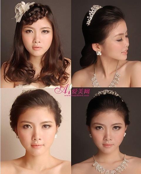 新娘发型收集分享