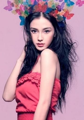 Angelababy演绎浪漫吉普赛风发型(三)