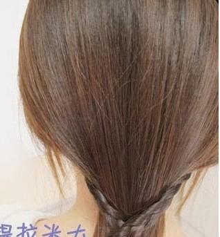这样的韩式盘发方法你会吗?(三)