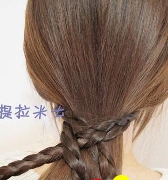这样的韩式盘发方法你会吗?(四)