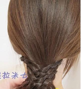 这样的韩式盘发方法你会吗?(六)