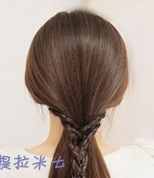 这样的韩式盘发方法你会吗?(八)