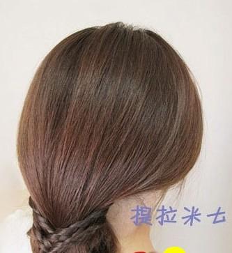 这样的韩式盘发方法你会吗?(九)