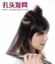 长头发怎样扎好看