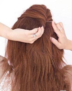2011新娘发型教程(四)
