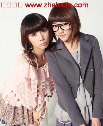 2011年女士最新发型(韩国版)