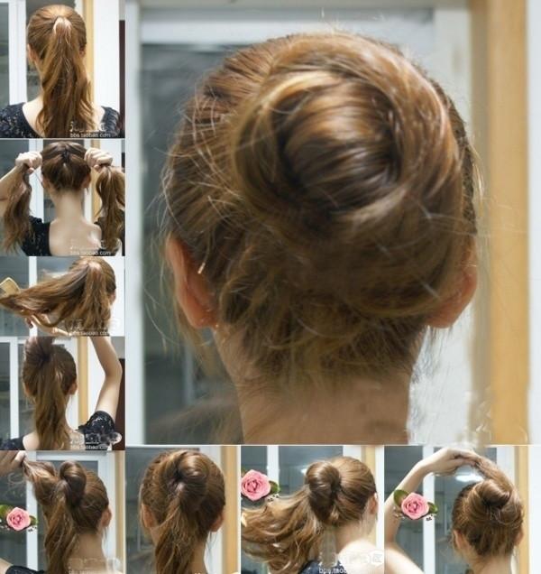 盘头发的40种方法 你会几种?