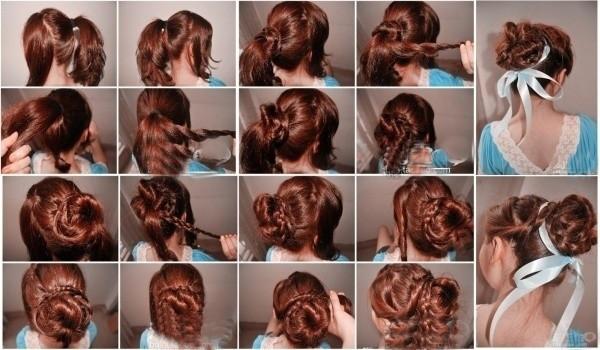 盘头发的40种方法 你会几种?(十)