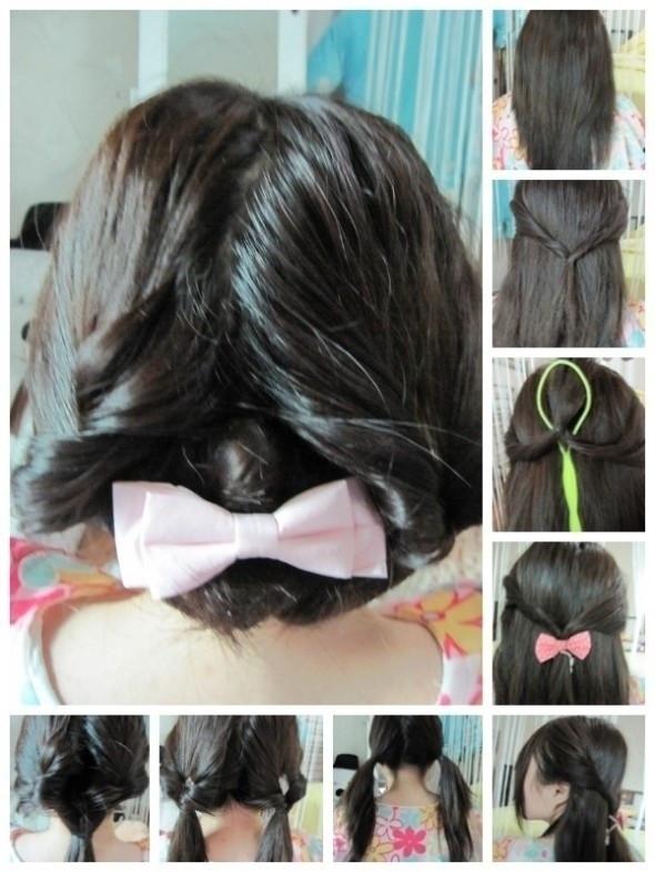 盘头发的40种方法 你会几种?(一三)