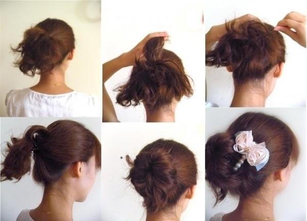 盘头发的40种方法 你会几种?(二二)