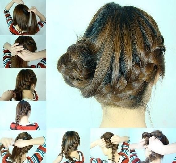 盘头发的40种方法 你会几种?(二五)