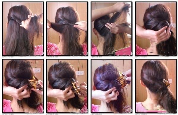 盘头发的40种方法 你会几种?(二七)