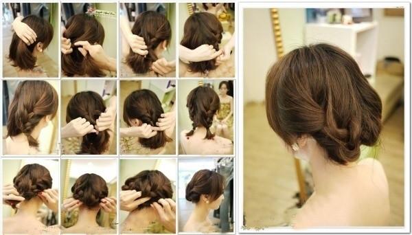 盘头发的40种方法 你会几种?(二八)