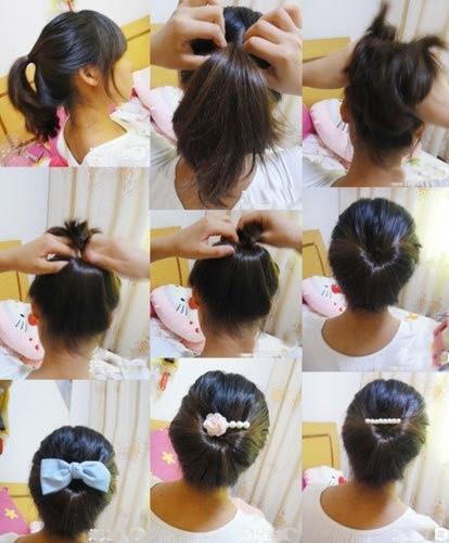 盘头发的40种方法 你会几种?(三一)