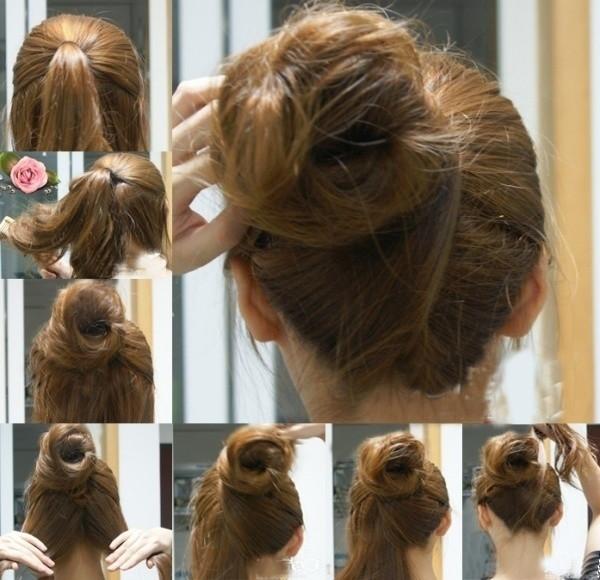 盘头发的40种方法 你会几种?(五)